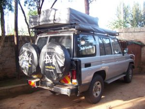 Double roof top tent car car rentals in uganda