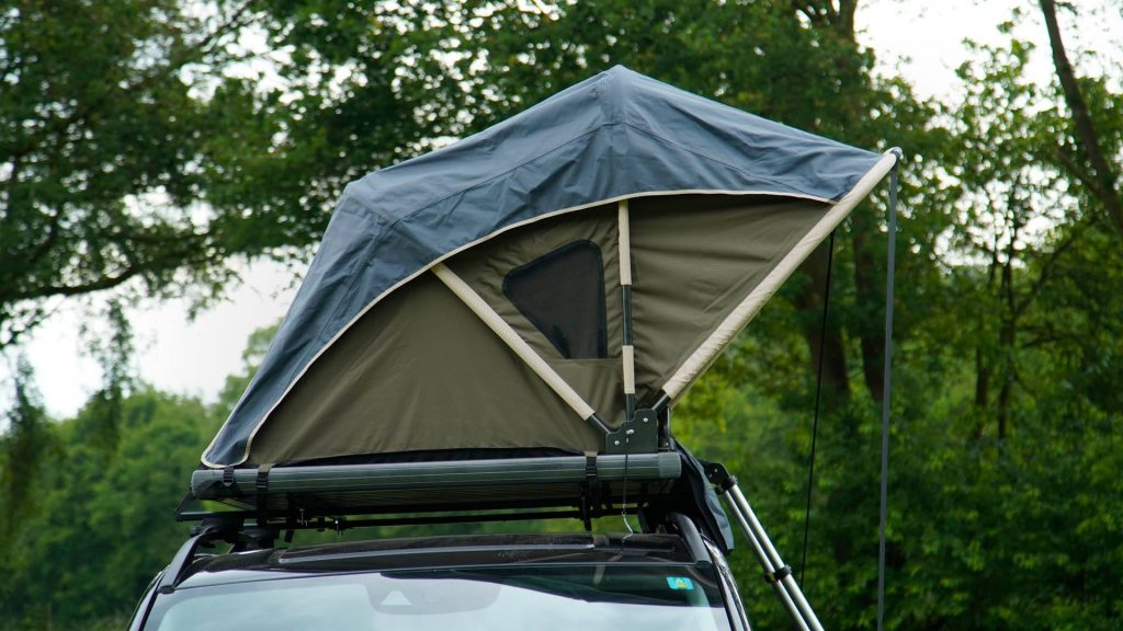 Double roof top tent car hire a car in uganda