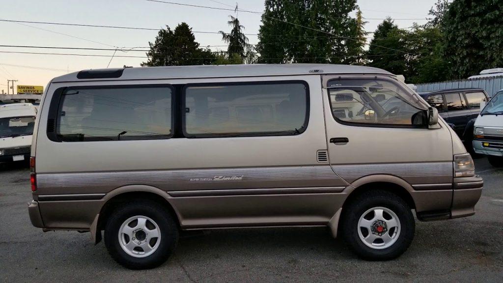 Toyota Super Custom Vans for hire in Uganda - Cheap Safari Cars Rentals